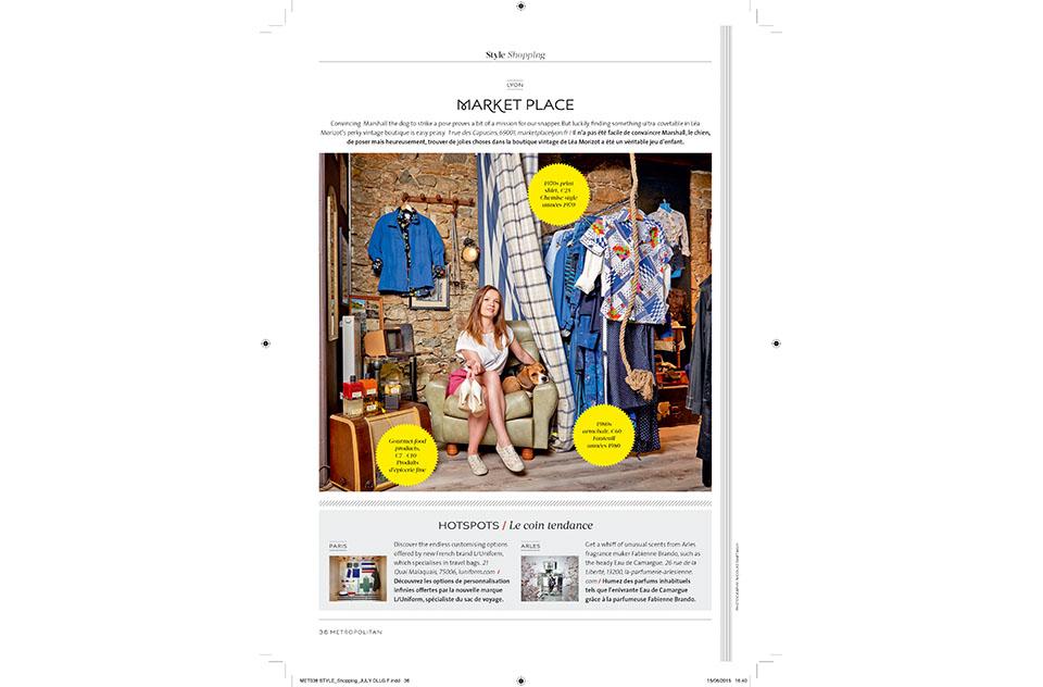 Eurostar Magazine - Metropolitan - Style Shopping