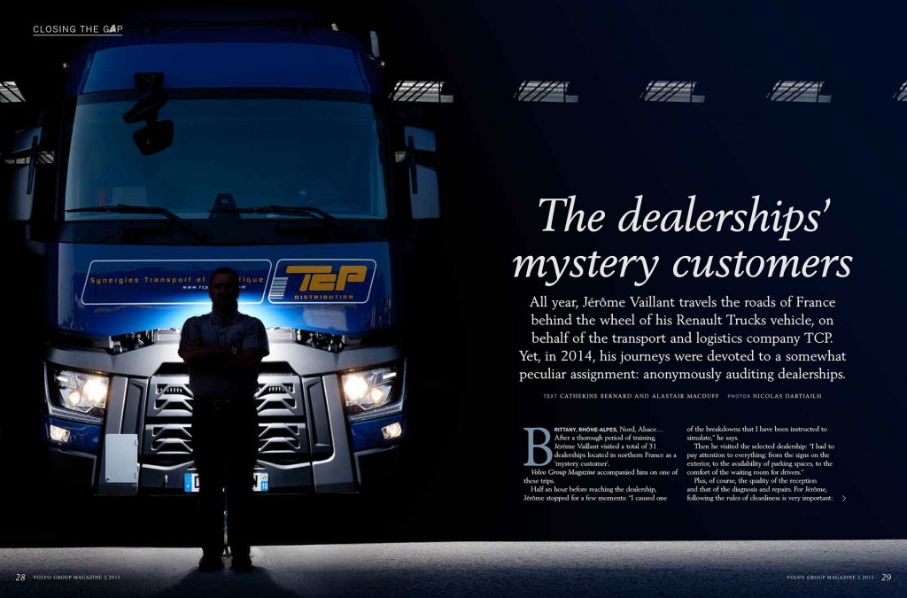 Volvo Global Magazine - The Dealerships' mystery customers