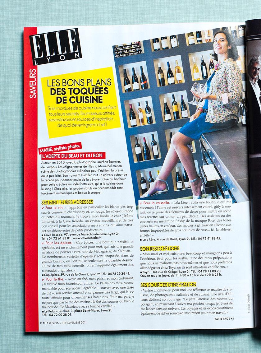Elle Lyon - Marie Bel - 2011