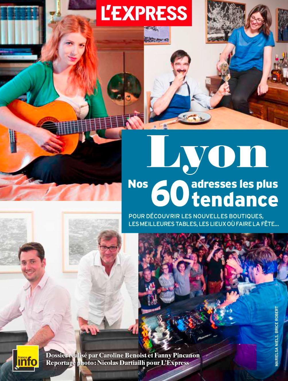 L'Express Tendance Lyon - 2013