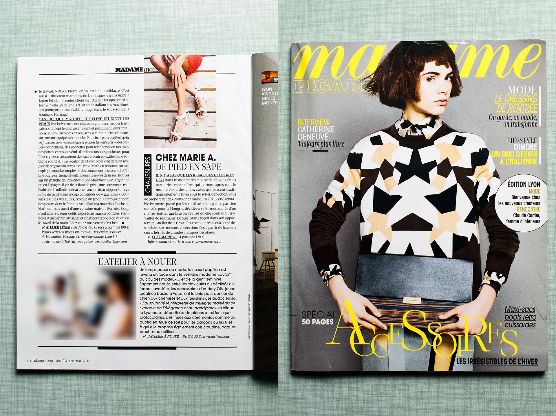 Madame Figaro - Marie A - 2013