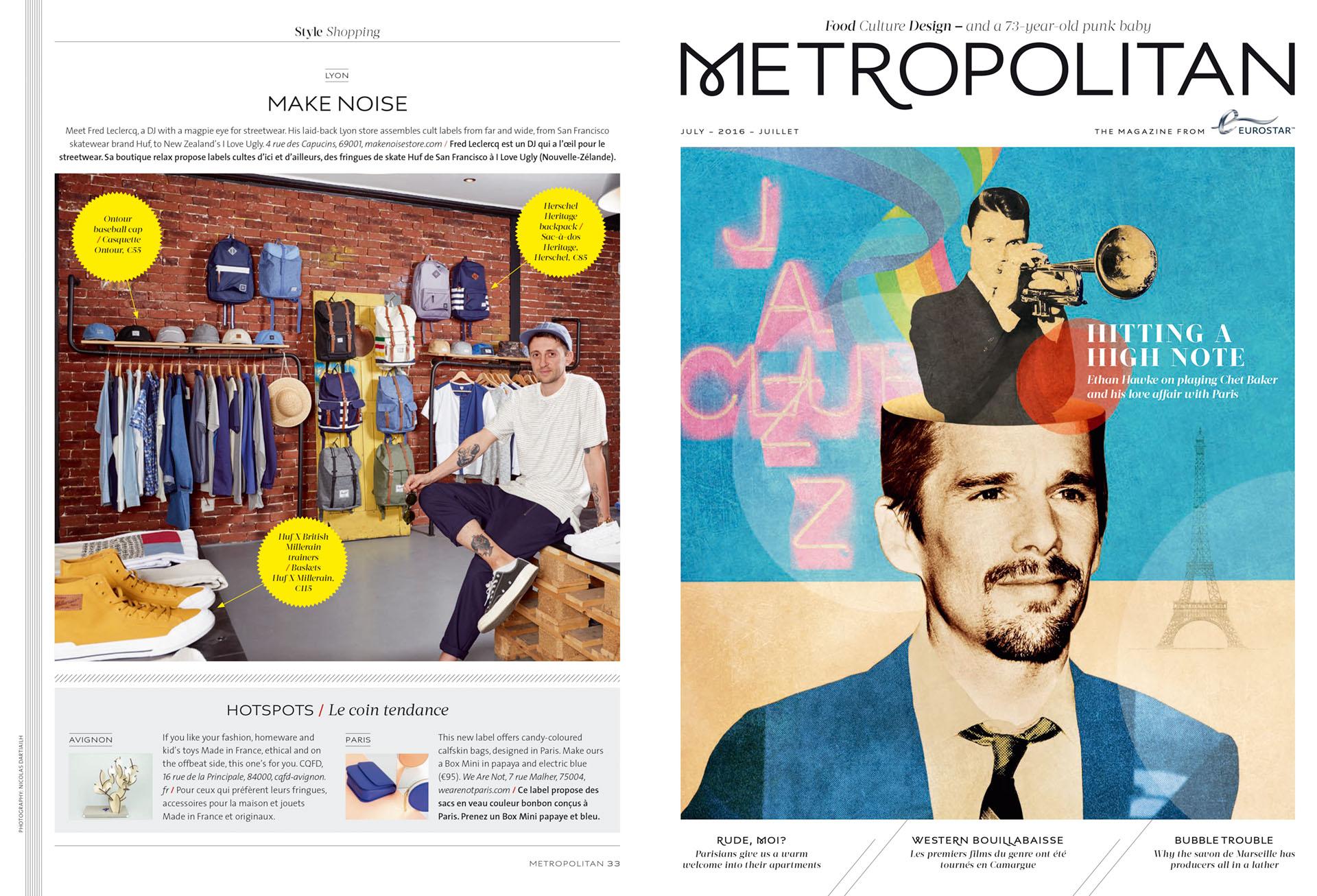 Eurostar Magazine - Metropolitan - Shopping - Juillet 2016