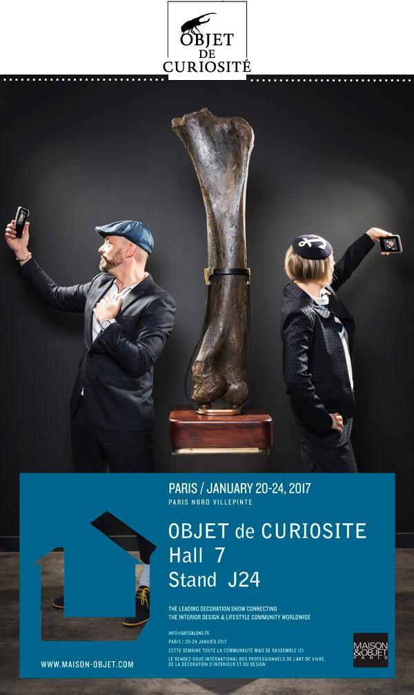 Selfies - Maison & Objet Janvier 2017 - Objet de curiosité