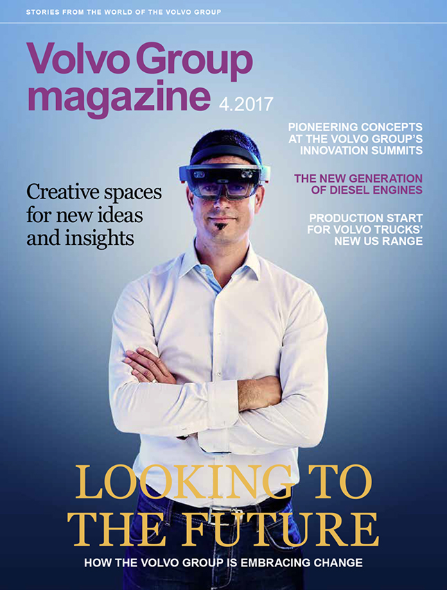 Volvo Group Magazine - Looking to the future - octobre 2017