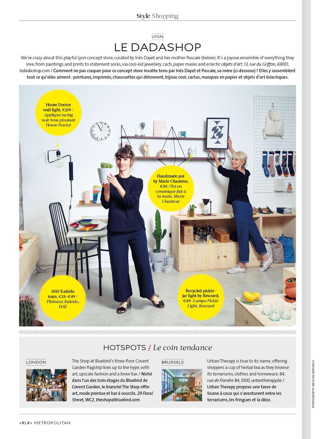 Metropolitan - Eurostar Magazine - juillet 2018