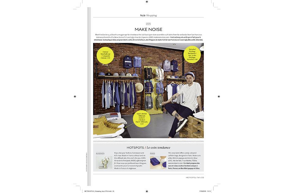 Eurostar Magazine - Metropolitan - Shopping - juin 2016