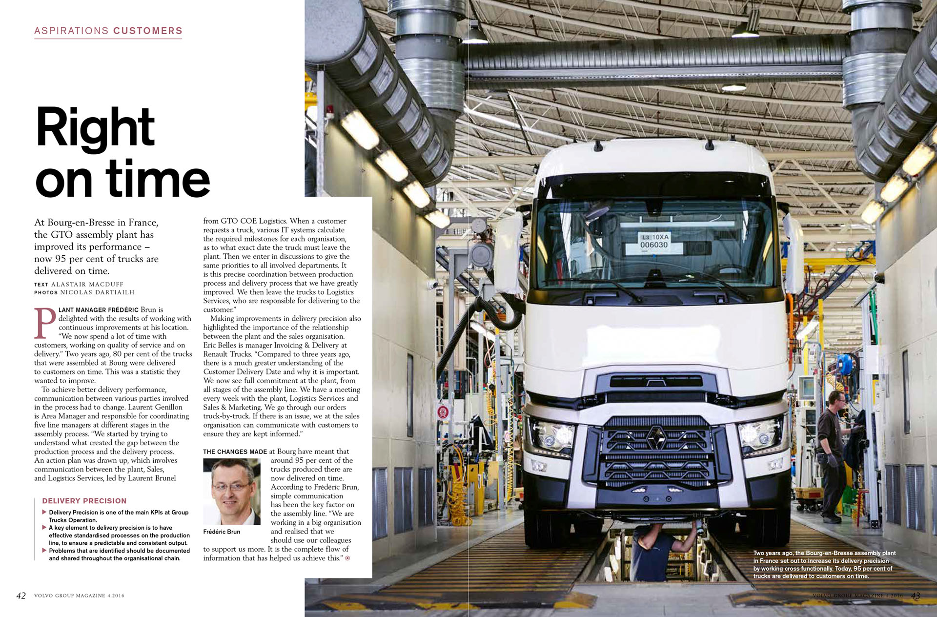 Right On Time - Volvo Global Magazine #4 - Octobre 2016